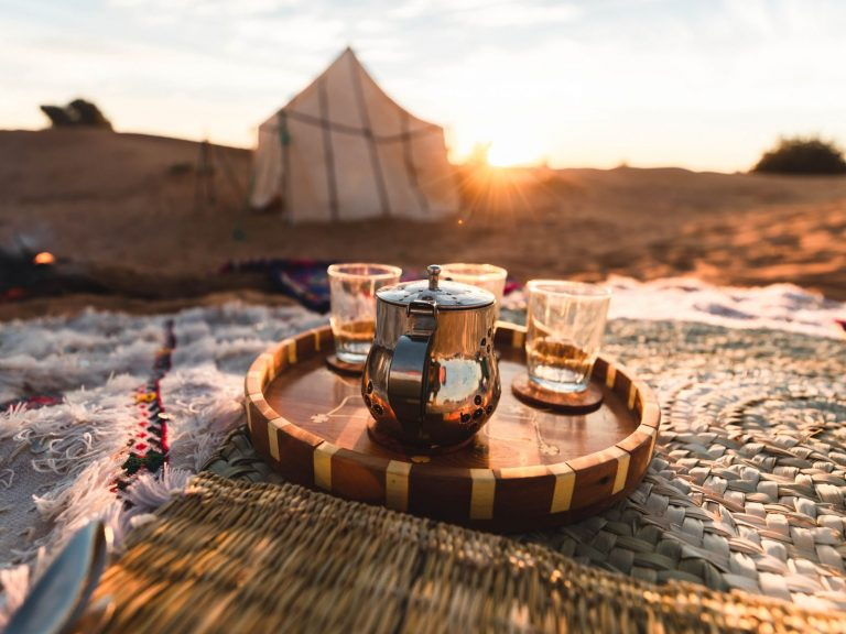 tea and tent walking with nomads bespoke desert trek