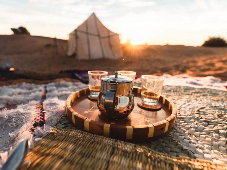 tea and tent walking with nomads bespoke desert trek