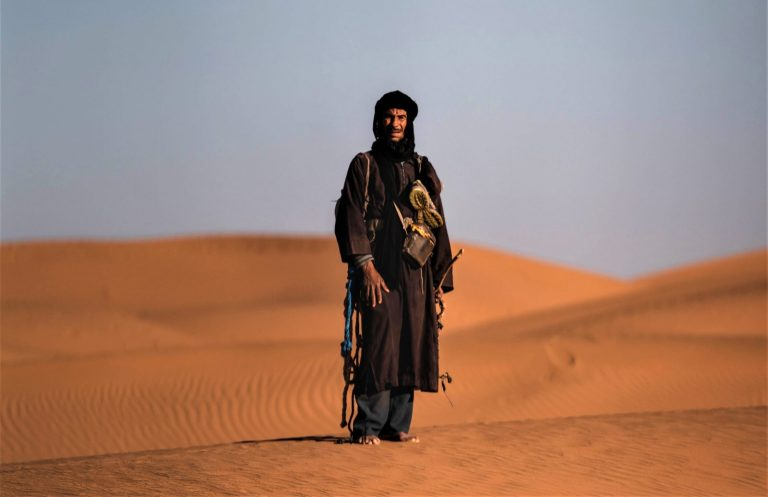 Nomad of the sahara