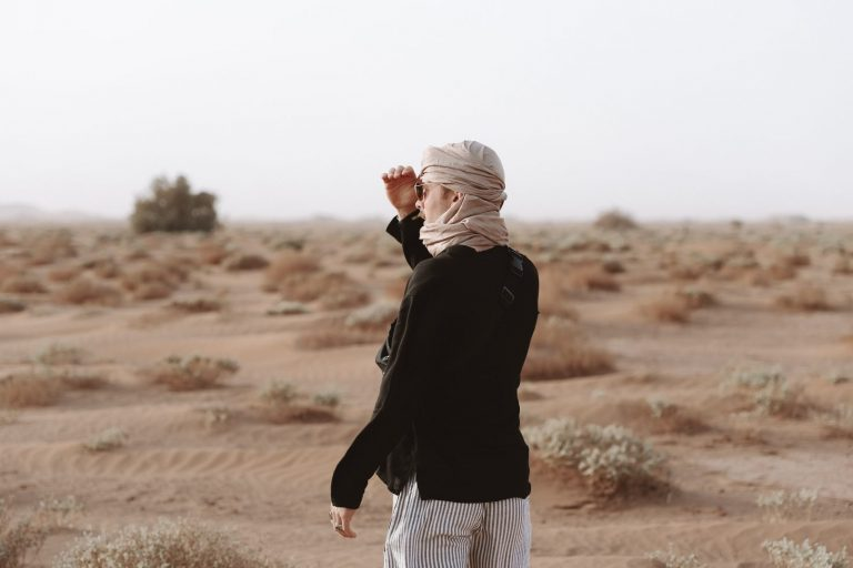 how to experience the real sahara desert   Desert Trekking