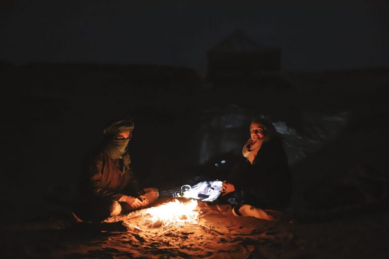 how to experience the real sahara desert | camp fire