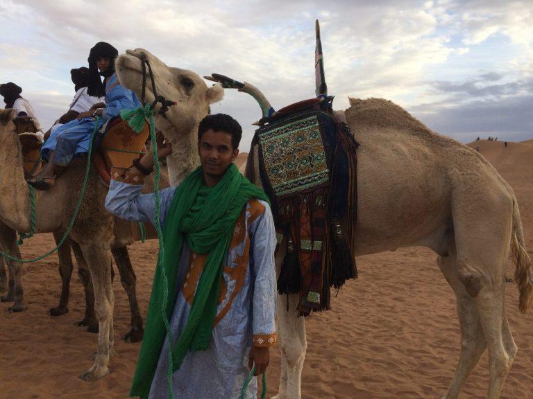 Toureg and Hassanie (right) Camel Saddle