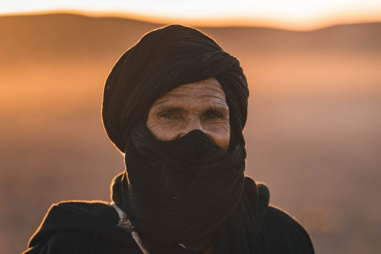 nomad face Walking with nomads