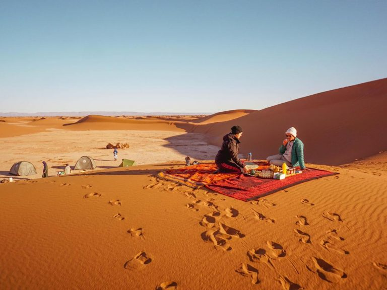 4x4 safari 1 day walking with nomads picnic