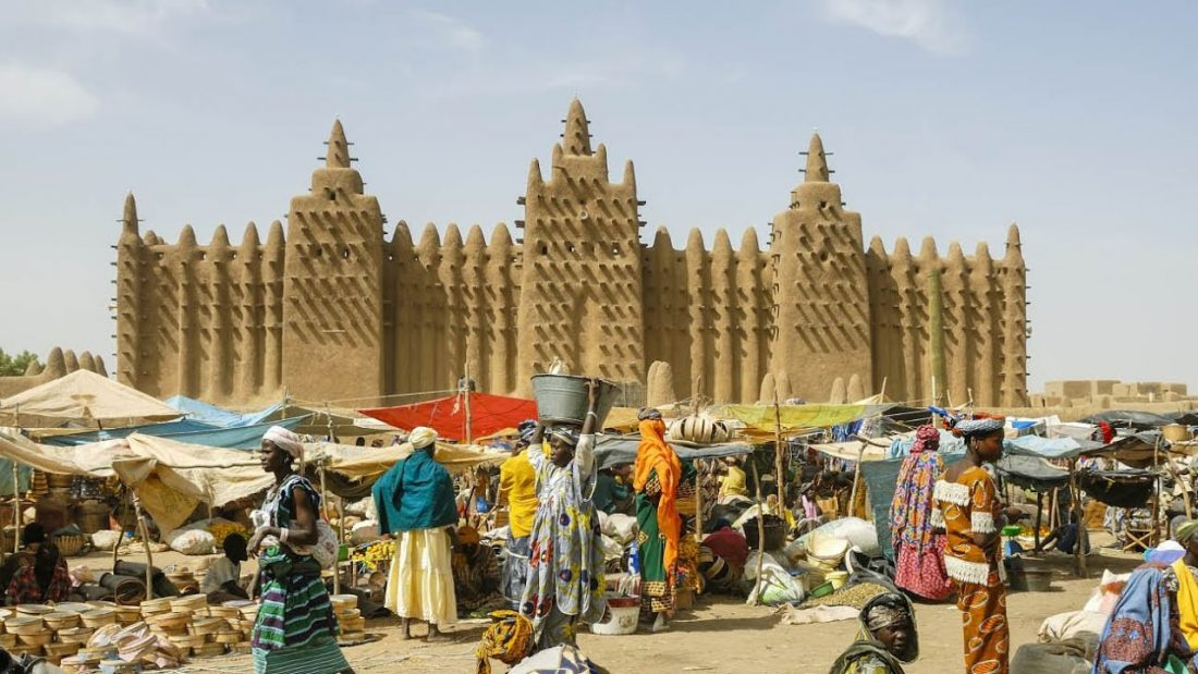 The Salt Road Mosque Djenne