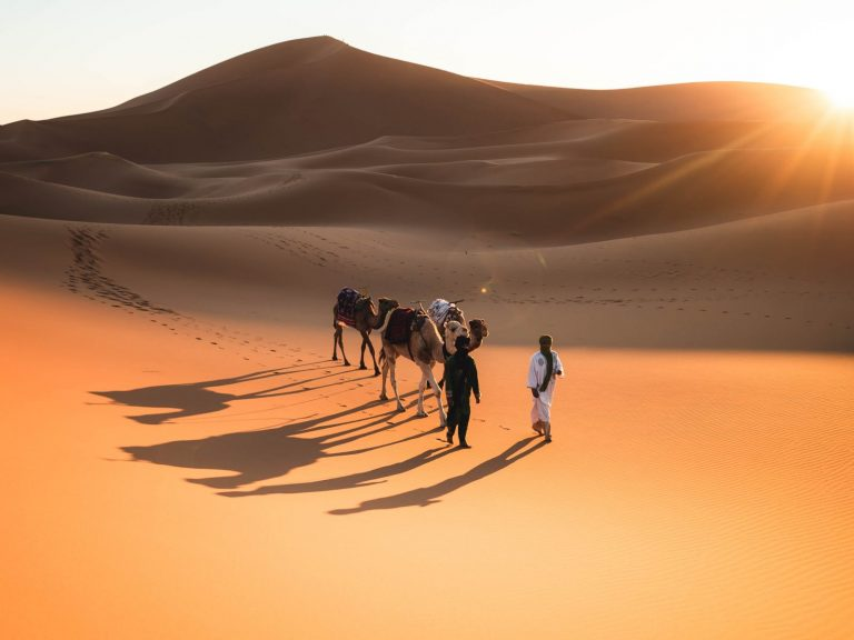 3 day trek in sahara