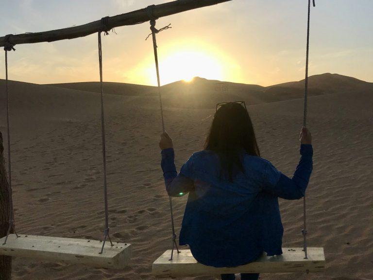 2 Day Desert Trek with Walking with Nomads Desert Swing