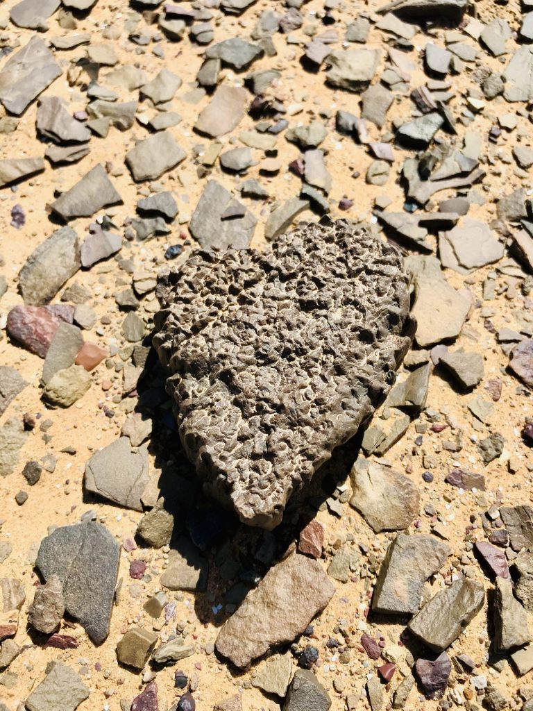 2 Day Desert Trek with Walking with Nomads Heart Shaped Rock