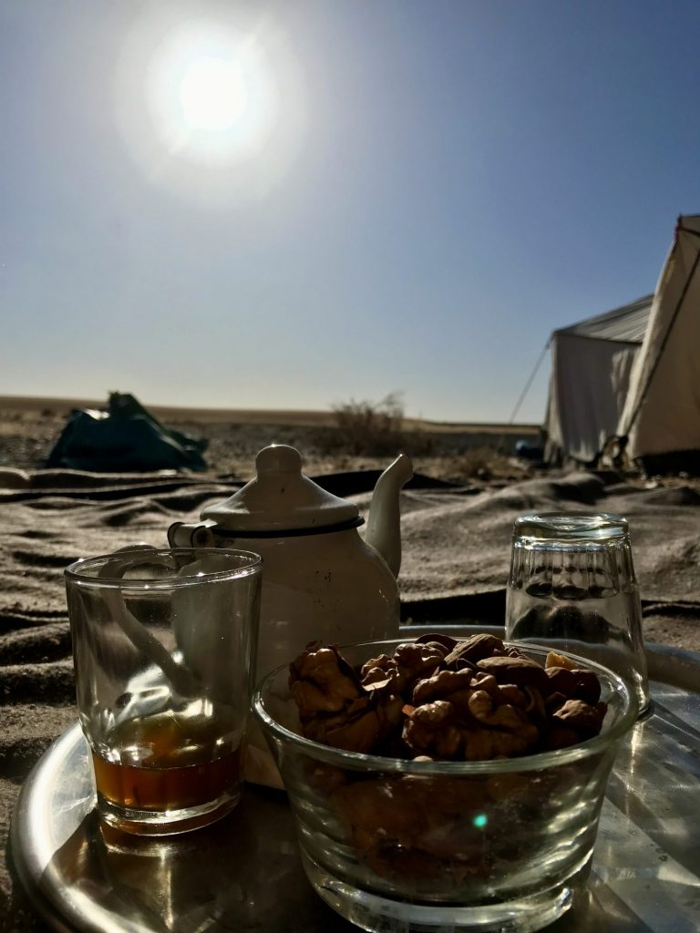 2 Day Desert Trek with Walking with Nomads Mint Tea