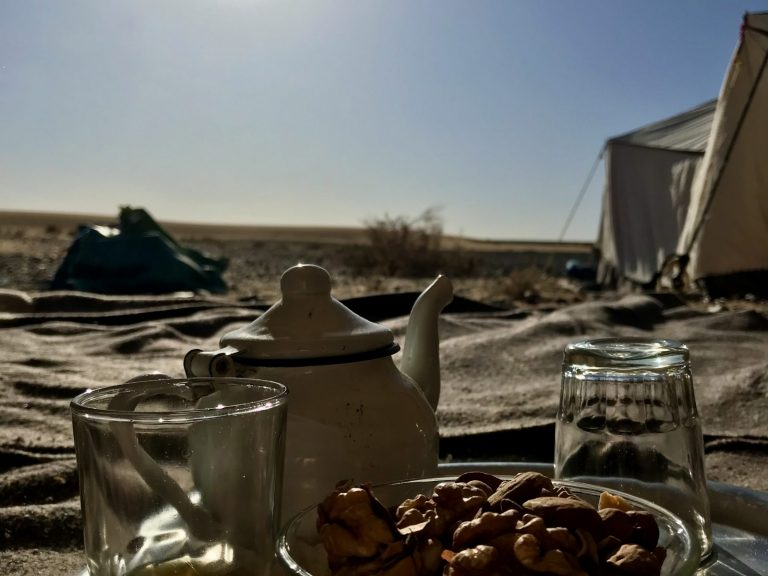 3 Day Desert Trek with Walking with Nomads - Mint Tea