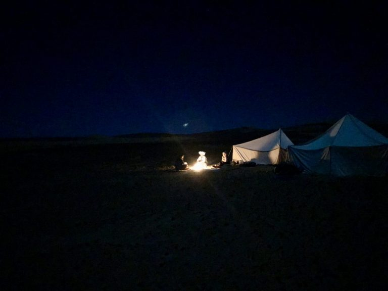 2 Day Desert Trek with Walking with Nomads - Desert at night