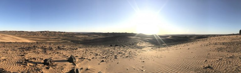 2 Day Desert Trek with Walking with Nomads - Panaromic View