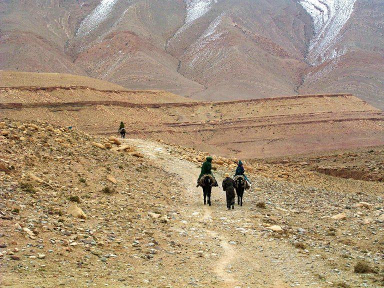 Anna Allworthy Walking with Nomads mountain trekking