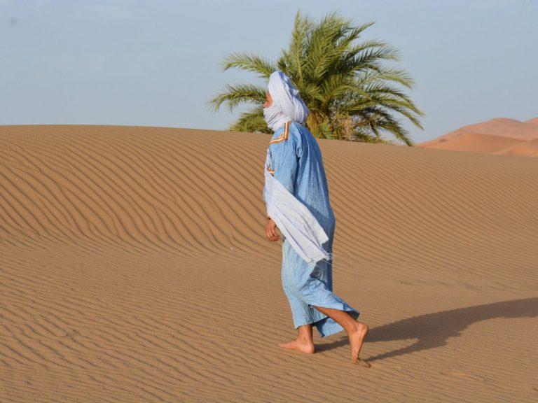 mohammed walking