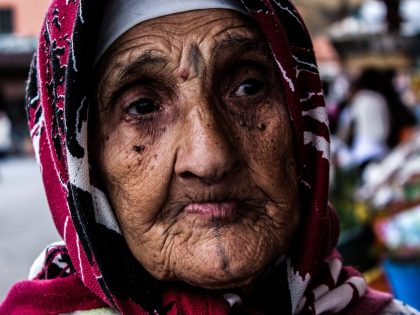old woman Face Tattoo Pixabay