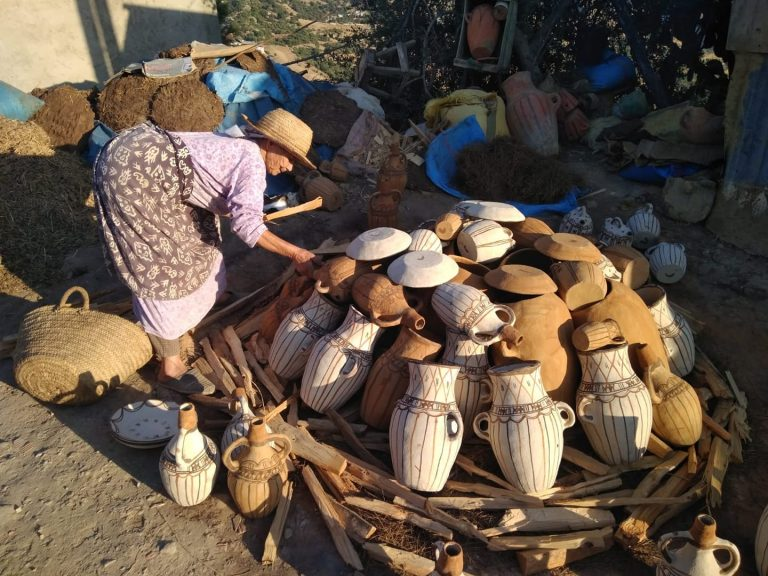 pottery Rif Walking with Nomads