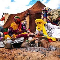 Walking with Nomads Desert Trekking