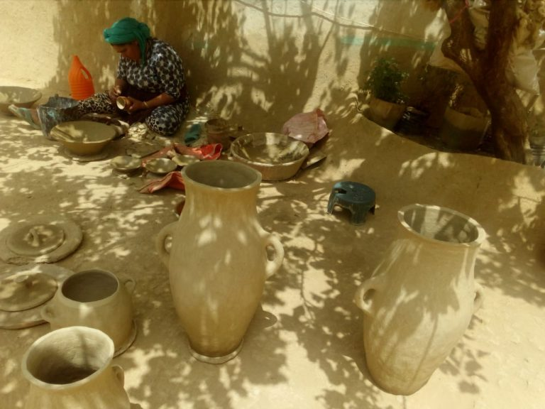 Hicham Pottery workshop