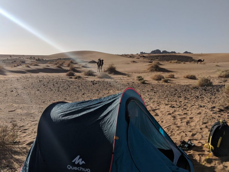 trekker tent walking with nomads credit lb