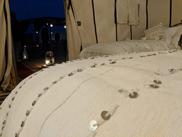 eco camp bedroom