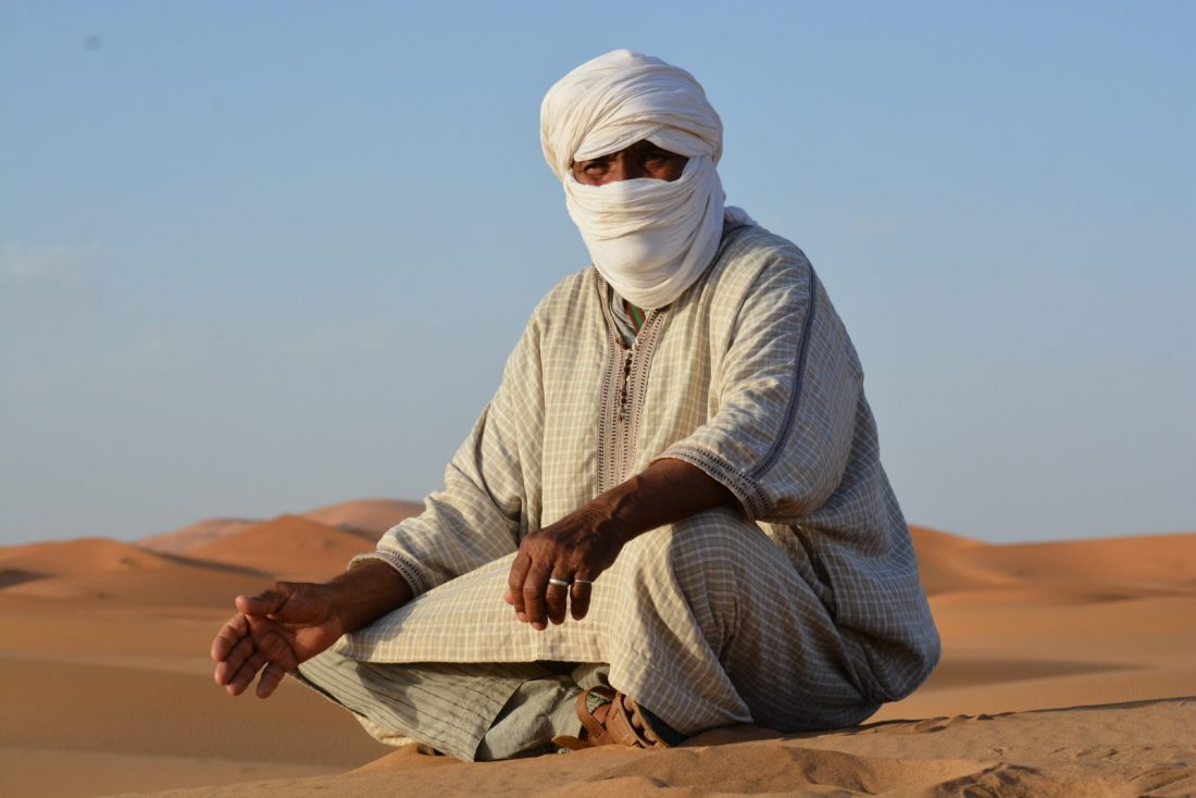 Sahara Nomad Story Teller